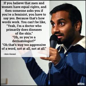 Ansari quote